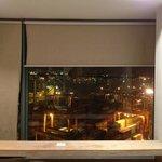部屋からの夜景