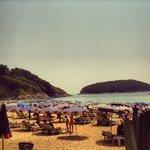 Nai Harn beach (free shuttle)