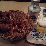 ビールとブレッツエル