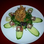 Fresh Ahi Salad. Beautiful and delicious.
