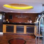 Recepción Hotel Britania