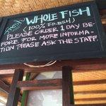 De lekkerste vis! En erg vers