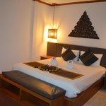Chambre d'un bangalow