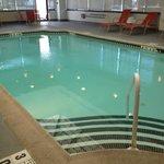 pool nice warm with music nice