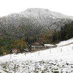 Früher Wintereinbruch auf dem Samerberg, 11.10.13