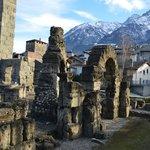Древнеримские развалины
