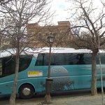 Autocar con turistas.