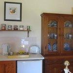The kitchenette area