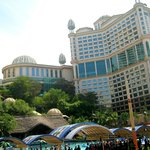 View of hotel from Sunway Lagoon