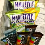 Complimentary snacks in minibar