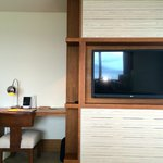Andaz suite, living room tv