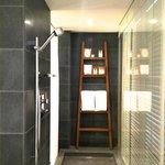 Andaz suite shower