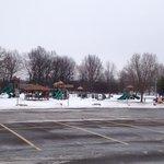 Playground area in park