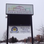 Front sign for Fair & Expo Center