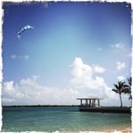 If you are a good Kiter you can launch your kite from the Blue Haven Beach and go for a downwind