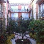 Giardino + appartamenti interni