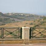 View of Ramla bay from Nadur