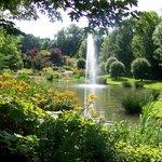 De prachtige Engelse tuin