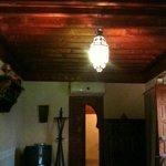 Il soffitto della camera