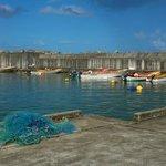 Marigot fisheries, where we get our fresh mai-mahi and lobster