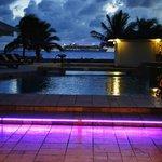 Pool Bar at night