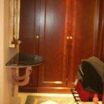 Hall de entrada da suite