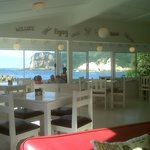East Head Cafe, view from inside