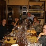 Pierluigi hosting a Texas Family at Tenuta Torciano