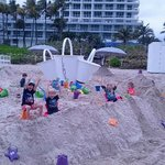 Sandcastles and friends
