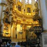 Altar y pulpito