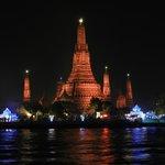 Aussicht auf den Wat Arun
