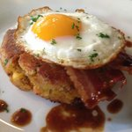 Bubble and squeak - looks better than it tastes