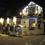 Pub by night