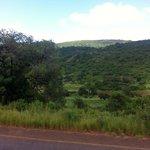 visão das montanhas da Suazilândia