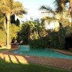 Терраса и бассейн