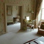 Wellington Suite, view of the sitting room from the bedroom