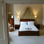 Wellington Suite, view of bedroom from the sitting room