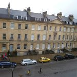 Wellington Suite, view out window of Great Pulteney Street