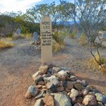 Famous grave at Boothill