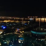 night view of the Bay from terrace