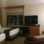 Deluxe room- good fit for large family