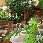 Spa et aménagement tropical, Atrium, Hôtel L'Oiselière