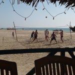 Воллейбол на пляже