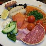 Завтрак в отеле по-баварски
