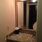 Separate vanity area. Closet is directly across from vanity.