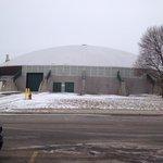 Dome in arena complex