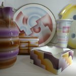 display of cheramics