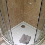 Small shower place