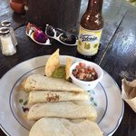 Fish tacos and a cold Victoria beer. Mmmmmm...