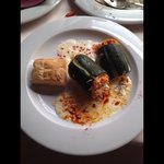 stuffed courgette, a marvelous mini marrow!
